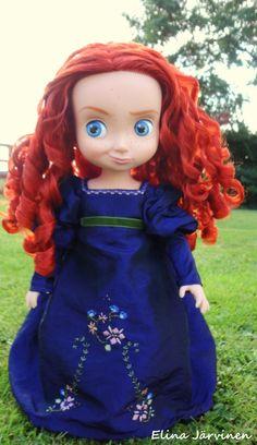 Merida's grand regency dress.