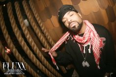 Method Man of Wu-tang Clan Partying and Performing Live at FLUXX San Diego