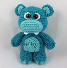 Ravelry: Baby Hippo and Elephant Amigurumi pattern by Mary Smith
