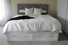 corner queen.storage bed - Google Search
