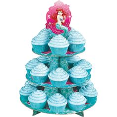 "Ariel Cupcake And Treat Stand - Costume Super Center - Toys ""R"" Us"
