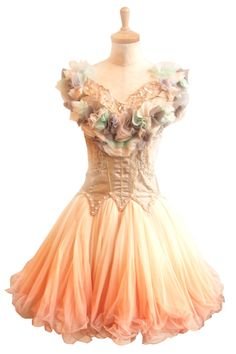 Peach Pixie Ballet Dress