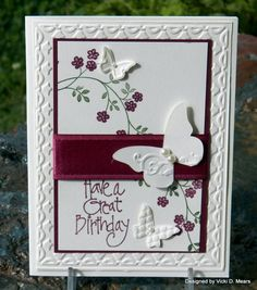 Great Birthday by Mary by vdm - Cards and Paper Crafts at Splitcoaststampers