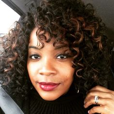 Crochet braids with Free Tress Gogo curl                                                                                                                                                     More