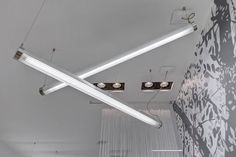 Hanging light fixture / LED / fluorescent / tubular TUBE Buck d.o.o.