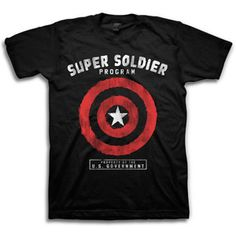 Men's Avenger Super Soldier Graphic Tee