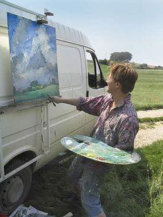 Oliver Akers Douglas - I'd be afraid I'd get paint all over my car.