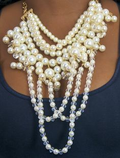 pearl necklace by tami
