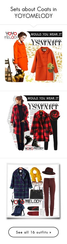 """""""Sets about Coats in YOYOMELODY"""" by yoyomelody ❤ liked on Polyvore featuring NYDJ, Love Quotes Scarves, rag & bone, AGNELLE, Retrò, Chinese Laundry, O'Neill, Van Cleef & Arpels, TIBI and Missguided"""