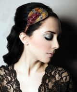 $34 you can't go wrong with feathers... and swarovski crystals!  #headbands  #featherheadbands