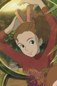 """Sometimes you have to fight for the things that are worth fighting for."" Arrietty from The Secret World of Arrietty (2012)"