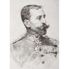 Friedrich Adolf Julius Von Bernhardi 1849 1930 Prussian General And Military Historian From La Esfera 1914 Canvas Art - Ken Welsh Design Pics (12 x 16)