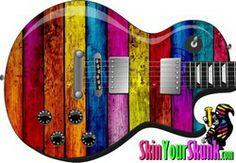 Texture - Rainbow - Guitar Guitar Skin