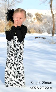 Simple Simon and Company: Gracie's Must Have WINTER Maxi Dress