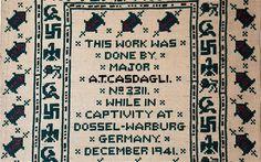 POW's Morse code message sampler: 'God save the king' & 'F**k Hitler'