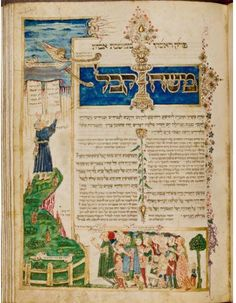 Rothschild Mahzor, Italy, 1490  http://www.jtslibrarytreasures.org/viewer/zifthumbs.php?image=images%2FMS-8892_006v&thumbs=rothschild#
