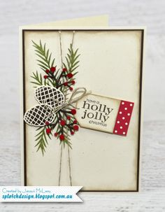 Christmas Pines Card