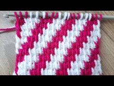 100. İKİ RENKLİ TUNUS İŞİ TEK ŞİŞ ÖRGÜSÜ how to tunusian crochet متماسكة تونسية - YouTube Flower Embroidery Designs, Tunisian Crochet, Crochet Hooks, Diy And Crafts, Mandala, Blanket, Knitting, Pattern, Crochet Stitches