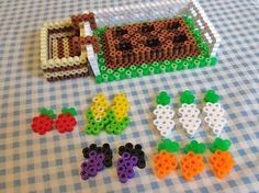 The most impressive Hama pearl doll houses - Hama models Perler Bead Templates, Diy Perler Beads, Pearler Bead Patterns, Perler Bead Art, Perler Patterns, Hama 3d, Bead Crafts, Diy And Crafts, Minecraft Beads