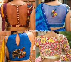 Kalamkari blouse designs that will leave you awestruck!