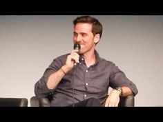Colin O'Donoghue Q&A at Fairytales IV - Did you and Jennifer Morrison have to take dance lessons? Once Cast, It Cast, Hook Ouat, Killian Jones, Dance Lessons, Colin O'donoghue, Jennifer Morrison, Captain Hook, Once Upon A Time