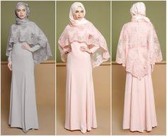 46 ideas dress hijab gowns products Source by marialicavenancio Hijab Gown, Hijab Evening Dress, Hijab Dress Party, Hijab Style Dress, Hijab Wedding Dresses, Wedding Abaya, Islamic Fashion, Muslim Fashion, Hijab Fashion