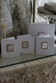 Sheelin Antique Lace Shop Lace Cards