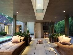 Luxury House with Open Design