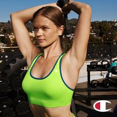 f902fc651992c The Absolute Sports Bra with SmoothTec™ Band is what you ll need to  complete your workout wardrobe.