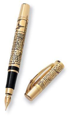 Da Vinci Inspired Fountain Pen- I want it!