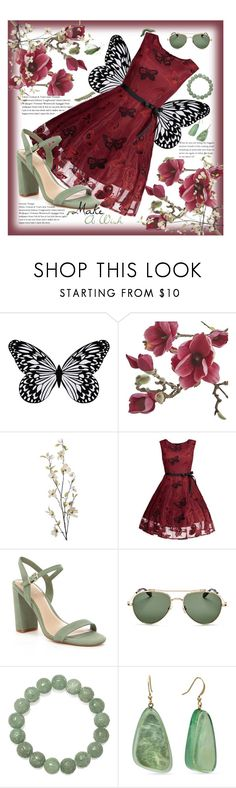 """""""Dream Come True."""" by sweetnovella ❤ liked on Polyvore featuring Visionnaire, Crate and Barrel, Pier 1 Imports, Gianni Bini, Givenchy and Kim Rogers"""