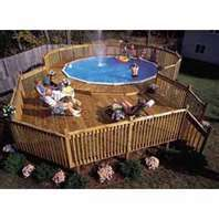 Above Ground Pool/Deck