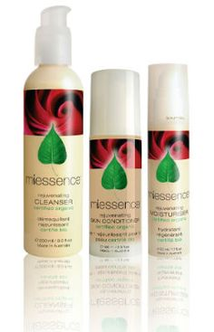 Rejuvenating Skin Essentials Pack. The three essential pieces that you need for healthy, glowing skin ~ naturally and organically! This set contains cleanser, skin conditioner, and moisturizer for dry or mature skin. All three are certified to international organic food standards – Literally pure enough to eat.