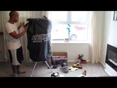 Rocket Ice Hockey Sports Heated Equipment Dryer Review - Stop Hockey Gear From Smelling - YouTube