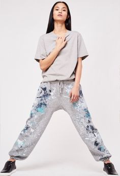 Paint Splatter, Shibori, Upcycle, Harem Pants, Tie Dye, How To Make, How To Wear, Design Inspiration, Sweatpants