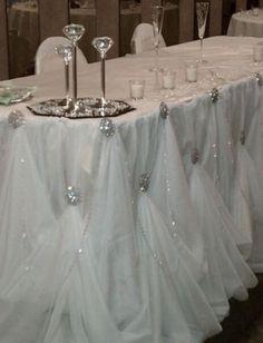 Wedding Decors...for a head table
