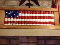 20 DIY Patriotic Day Wooden crafts you should be making for that gorgeous rustic feel at home - Ethinify Painting Shutters, Diy Shutters, Wooden Shutters, Bedroom Shutters, Kitchen Shutters, Plastic Shutters, Farmhouse Shutters, Interior Shutters, Art