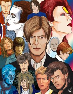 ChangesBowie Poster by on DeviantArt Queen David Bowie, David Bowie Born, David Bowie Tribute, Rock N Roll, David Bowie Pictures, King David, Major Tom, No Kidding, Fantastic Art
