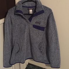 1980s Patagonia Fleece Pullover | Tough Luck Vintage - Menswear ...