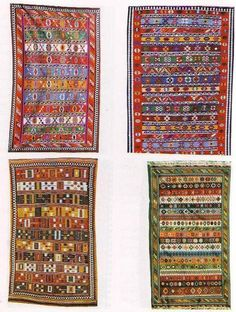 Türkish yörük kilims Kilims, Tapestries, Bohemian Rug, Carpet, Rugs, Abstract, Antiques, Design, Home Decor