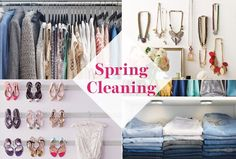 Spring Cleaning your closet has never looked so good!
