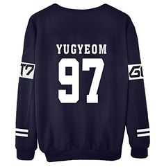 Beautiful 2015 New Arrival Got7 Got 7 Spring Autumn O Neck Hoodie Member Names Print Black Sweatshirt Jackson Mark Bambam Sudaderas Mujer Women's Clothing