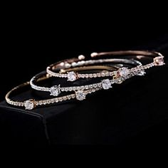 Treasure Bracelet.. in Gold , Silver and Rose Gold Tone.. by Evabella Collections on Opensky
