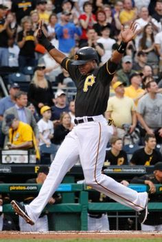 Gregory Polanco, Pittsburgh Pirates Pittsburgh Pirates Baseball, Pittsburgh Sports, Pnc Park, Jolly Roger, Team Photos, Major League, Espn, Black N Yellow, Penguins