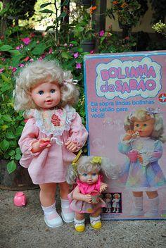 Boneca Bolinha de Sabão da Estrela- A minha filha Ana tem uma destas. Anos 80.