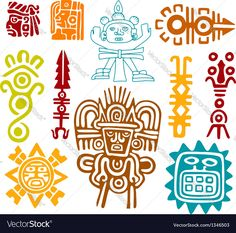 Maya Set- symbols. Download a Free Preview or High Quality Adobe Illustrator Ai, EPS, PDF and High Resolution JPEG versions.