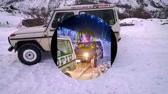 un Ufo o un fantasma segue le gesta di Alfio+ in fuoristrada sulle Alpi ...