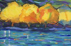 New Blood Art | Emerald River by David Brett | Buy Original Art Online | Artworks by Emerging Artists for Sale