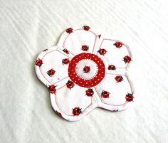 Úžitkový textil - kvetinkovka - 2181558