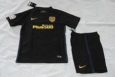 Li laga 16/17 Atlético Madrid away kids kit. GRIEZMANN soccer jersey
